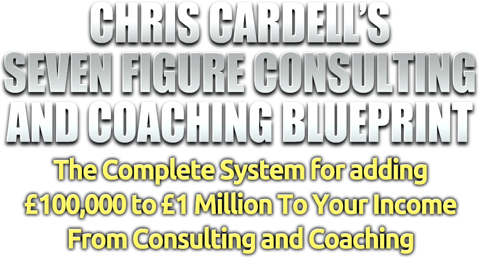 Chris cardells coaching and consulting blueprint chris cardell malvernweather Choice Image