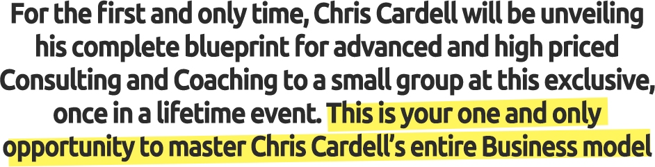 Chris cardells coaching and consulting blueprint from business22 yes please reserve me a place at the blueprint malvernweather Choice Image