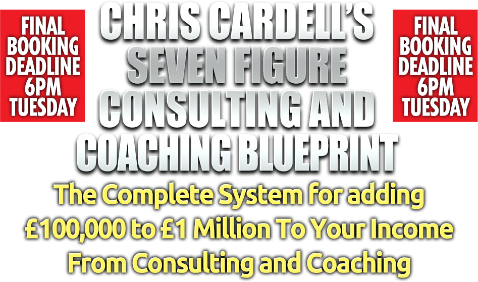 Chris cardells coaching and consulting blueprint from business22 chris cardells coaching and consulting blueprint from business22 chris cardell malvernweather Choice Image