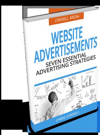 ADVERTS ON WEBSITES - SEVEN ESSENTIAL ADVERTISING STRATEGIES