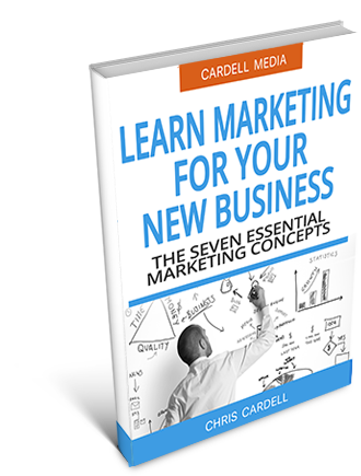 BOOKS TO LEARN MARKETING FOR YOUR NEW BUSINESS - THE SEVEN ESSENTIAL MARKETING CONCEPTS