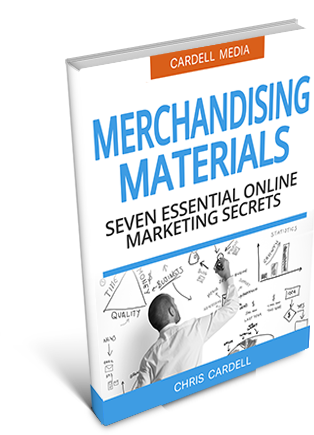MERCHANDISING MATERIALS - SEVEN ESSENTIAL ONLINE MARKETING SECRETS