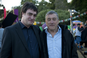 Chris Cardell and Robert De Niro